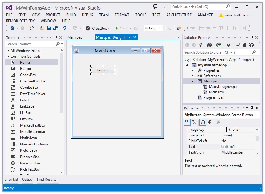 WinForms and WPF for Delphi Developers